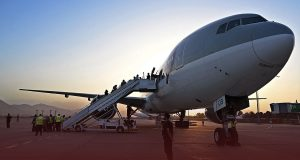Flight Lands in Doha from Afghanistan as Taliban Cleared Foreigners
