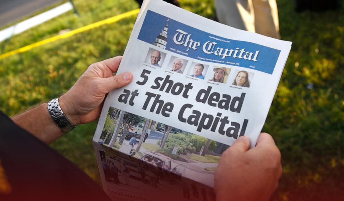 No one Can Kill the Truth - Capital Gazette Shooting