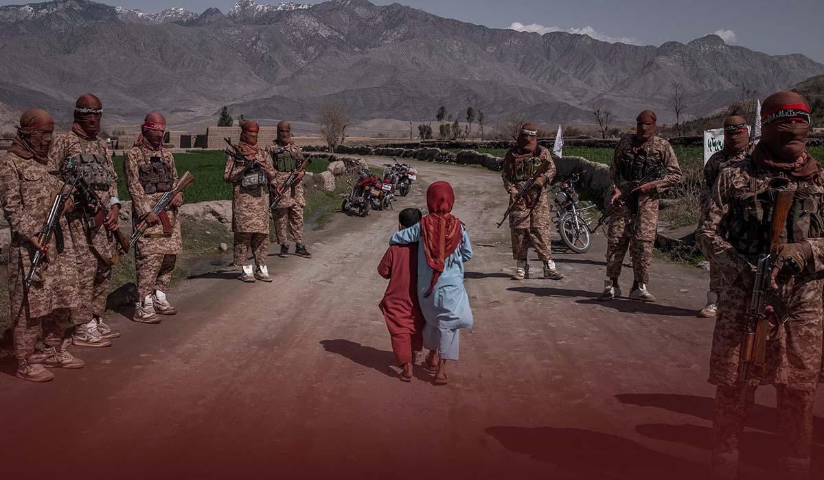 The Taliban want to lay down the Sharia law in Afghanistan