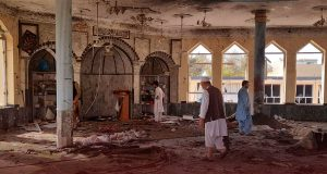 ISIS Bomber Killed 46 Afghan Shiites in Mosque in a Suicide Attack