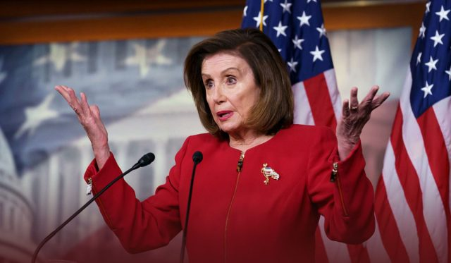 Pelosi Planned to Vote on Infrastructure without Spending Bill
