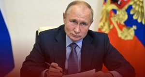 Russians to Stay off Work for One Week as Virus Deaths Soars - Putin